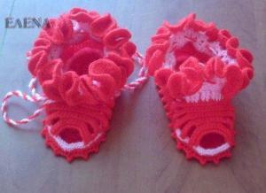 Обувь для детей, Вязание крючком