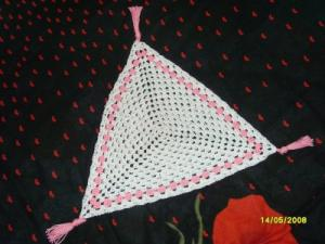 Треугольная салфетка