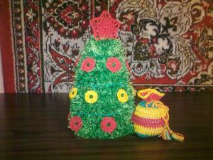 Новогодние украшения, Вязание крючком