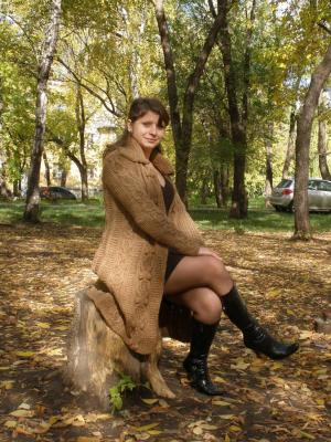 Осенний кардиган-пальто