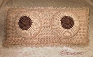 Подушки, Тамбурное вязание