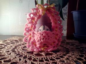 Пасхальное яйцо с украшением