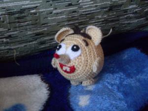 Игрушки, Тамбурное вязание