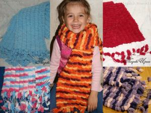 Толстые и мягкие шарфы