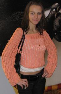 "Блуза цвета ""Апельсин"""