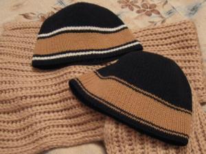 Мужские шапки крючком