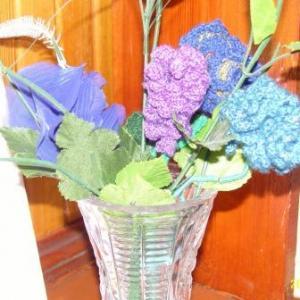 Цветы, Вязание крючком