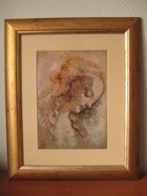 Леонардо да Винчи.Голова женщины