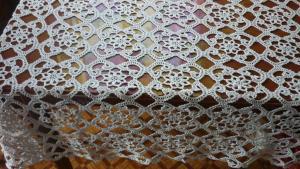 Скатерти, Ажурное вязание