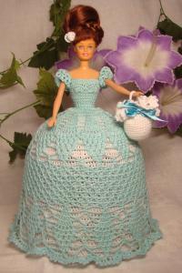 Барби в голубом
