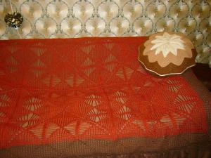 Покрывала, Ажурное вязание