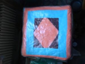 Подушка для табурета своими руками
