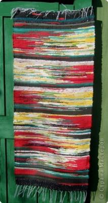 Дорожки, Ажурное вязание