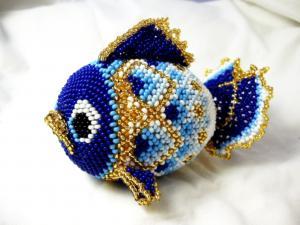 Гжельская рыбка