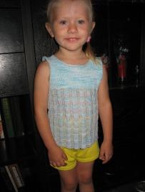 Одежда для детей, Вязание спицами