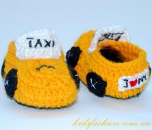 "Пинетки  ""New York Taxi"", Машинки"