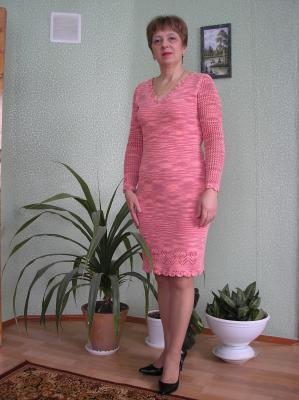 """Платье """"Коралловое"""""""