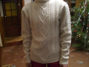 свитер для любимого, Косы