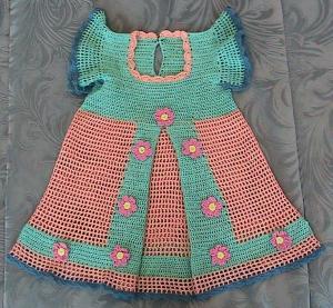 Одежда для детей, Вязание крючком