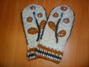 """Варежки """"Дарья"""", Варежки, перчатки"""