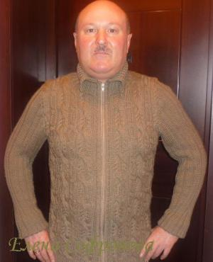 Одежда для мужчин, Вязание спицами