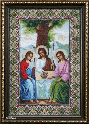 Иконы, Вышивка крестом