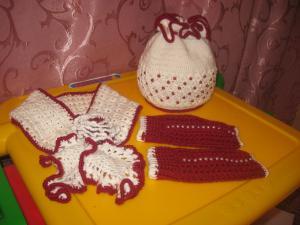 Бусинка, Детские шапки, шарфы