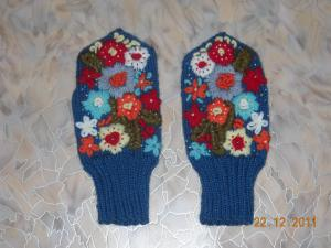 """Варежки """"Весна"""", Варежки, перчатки"""