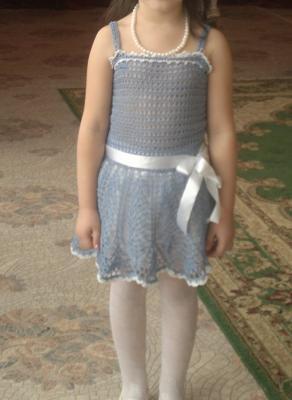 платье нарядное, Ангелочки