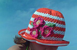 шапочка летняя, Детские шапки, шарфы