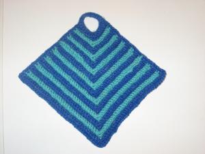 Прихватки, Тамбурное вязание