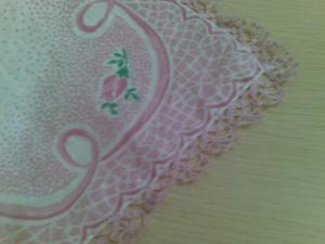 Кайма, Ажурное вязание